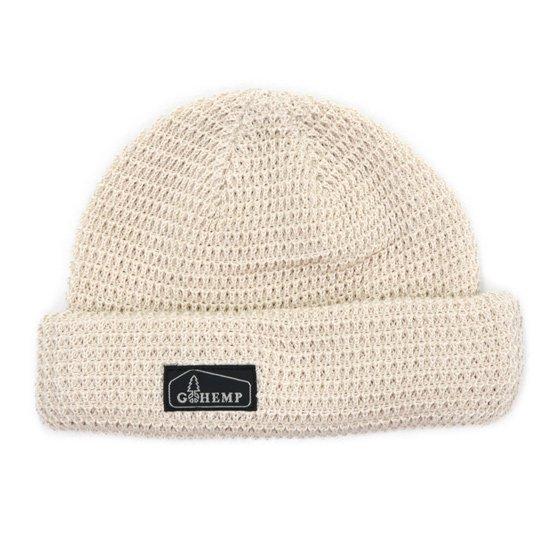 GO HEMP ゴーヘンプ HEMP ORGANIC COTTON WATCH CAP (ナチュラル)(ニット帽)
