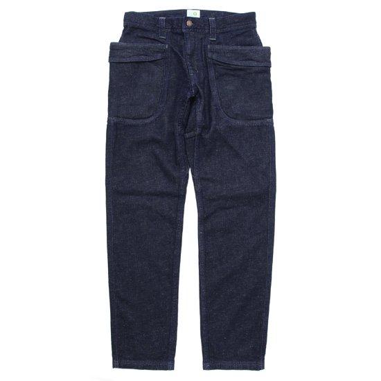 GO HEMP ゴーヘンプ|11.5oz VENDER TAPERED SLIM PANTS (ワンウォッシュ)(ストレッチデニム)