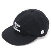 TACOMA FUJI RECORDS タコマフジレコード|TACOMA FUJI ZEBRA LOGO CAP (ブラック)(キャップ)