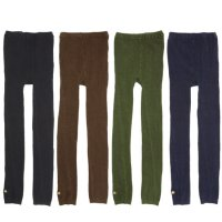 GO HEMP ゴーヘンプ|PLAIN DYE LEGGINGS DARK TONE (レギンス)