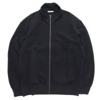 LAMOND ラモンド|LMC131 MILANO RIB STAND TRACK JACKET (ブラック)(トラックジャケット)