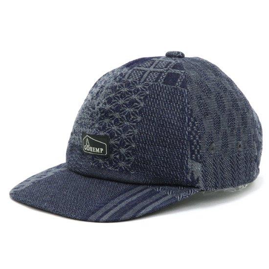 GO HEMP ゴーヘンプ|JAPANESE PATTERN PANEL CAP (グレイ)(キャップ)