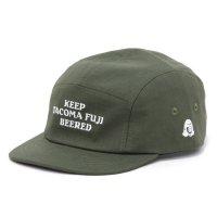 TACOMA FUJI RECORDS タコマフジレコード|KEEP TACOMA FUJI BEERED CAP (グリーン)(ジェットキャップ)