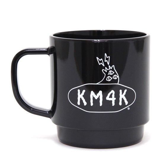 KM4K カモシカ MAGCUP  STAY PARADICE(ブラック)(マグカップ ecomate)(リサイクルペット)