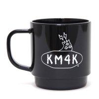 KM4K カモシカ|MAGCUP  STAY PARADICE(ブラック)(マグカップ ecomate)(リサイクルペット)