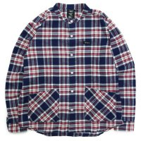 KM4K カモシカ|ORIGIN LONG-SLEEVED SHIRT (PLAID) (長袖シャツ)