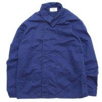remilla レミーラ|羽織りハントシャツ (ブルー)(羽織シャツ)
