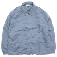 remilla レミーラ|羽織りハントシャツ (ライトブルー)(羽織シャツ)