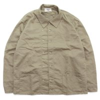 remilla レミーラ|羽織りハントシャツ (サンド)(羽織シャツ)