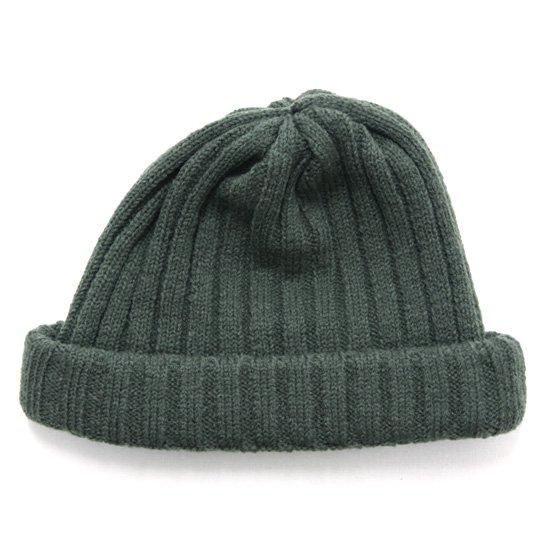 remilla レミーラ|リブニット帽 (オリーブグレイ)(ワッチキャップ)