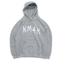 KM4K カモシカ|OG HOOD MOJI PARKA (グレイ)(モジ パーカー)