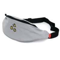 KM4K カモシカ|WEIST BAG (ライトグレイ)(ヒップバッグ)