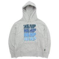 GO HEMP ゴーヘンプ|FOR HEMP HOODY (アッシュヘザー)(プルパーカー)