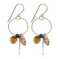 Ronni Kappos ロニーカポス|Vintage Beads Pierce (e1649)(ピアス)
