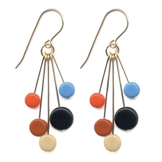 Ronni Kappos ロニーカポス Vintage Beads Pierce (e1663)(ピアス)