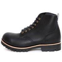 William Lennon ウィリアムレノン|#107 Field Boots (ブラックスムース)(ワークブーツ フィールドブーツ)