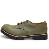 William Lennon ウィリアムレノン|#157 Hill Shoe (バイユーオリーブ)(ワークブーツ)