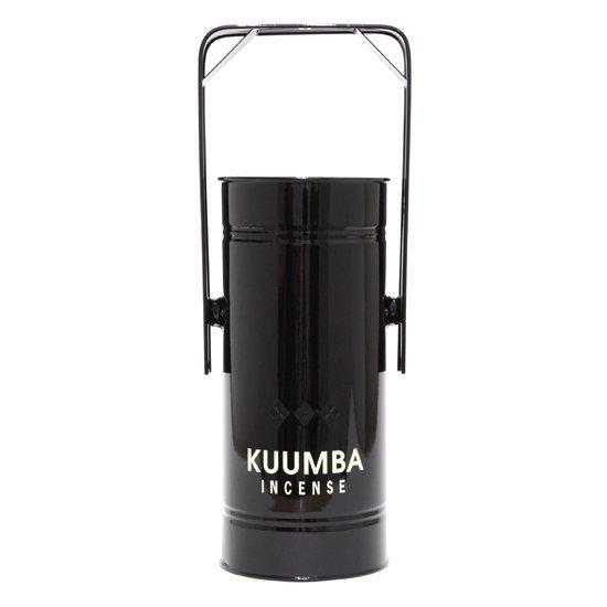KUUMBA クンバ|METAL CAN BURNER REGULAR (ブラック)(お香立て)
