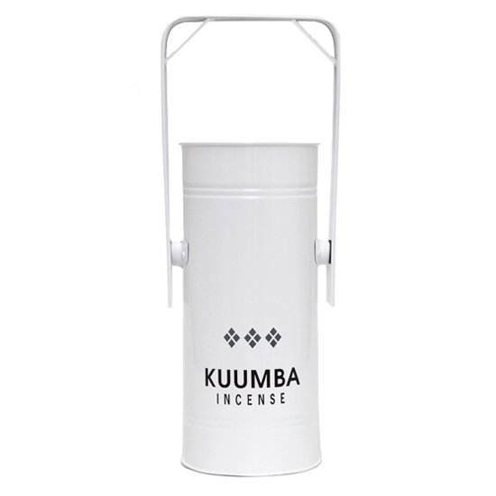 KUUMBA クンバ|METAL CAN BURNER REGULAR (ホワイト)(お香立て)