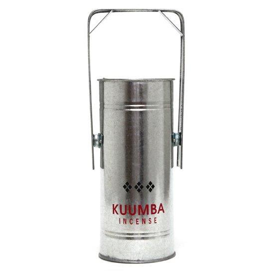 KUUMBA クンバ|METAL CAN BURNER REGULAR (シルバー)(お香立て)