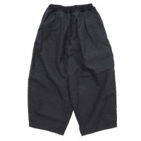 ORDINARY FITS オーディナリーフィッツ|レディース BALL PANTS 10oz (ブラック)(ボールパンツ)