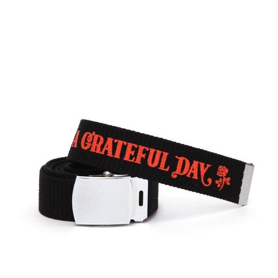 HAVE A GRATEFUL DAY ハブアグレイトフルデイ| GI BELT (ブラック)(ガチャベルト)