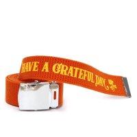 HAVE A GRATEFUL DAY ハブアグレイトフルデイ| GI BELT (オレンジ)(ガチャベルト)