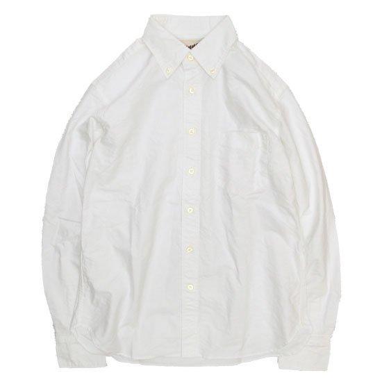 SPINNER BAIT スピナーベイト|エイタ オックスシャツ (ホワイト)(長袖シャツ)