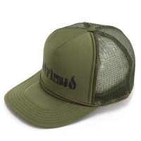 【OUT FLOW アウトフロー】Original Logo Mesh cap (オリーブ)(メッシュキャップ)