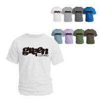 【GREEN CLOTHING グリーンクロージング】2021 #1 LOGO TEE (ロゴ)(プリントTシャツ)