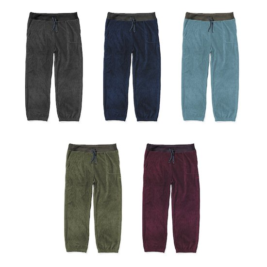 【21-22 予約商品】GREEN CLOTHING グリーンクロージング FLEECE PANTS (フリースパンツ)