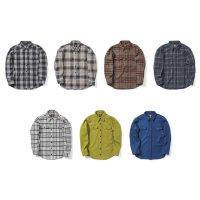 【21-22 予約商品】GREEN CLOTHING グリーンクロージング|WOOL FLANNEL SHIRTS (ウールフランネルシャツ)