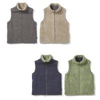 【21-22 予約商品】GREEN CLOTHING グリーンクロージング|BOA VEST (リバーシブルベスト)
