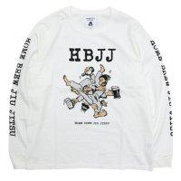 TACOMA FUJI RECORDS タコマフジレコード|HBJJ L/SL TEE (ホワイト)(ロンTEE)