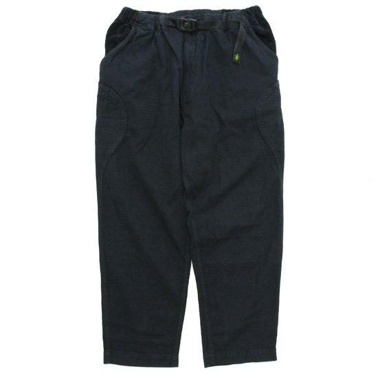 GO HEMP ゴーヘンプ HEMP CANVAS HIGH EXPLORER PANTS (ブラック)(イージーパンツ)
