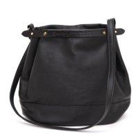 suolo スオーロ|CROP 2 leather (ブラック)(ショルダーバッグ)