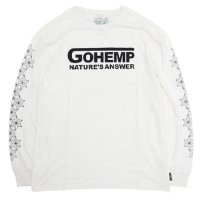 GO HEMP ゴーヘンプ|NATURE's ANSWER L/SL TEE (ナチュラル)(ロンTEE)