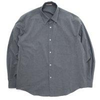 LAMOND ラモンド|LMS062 BOLD SHARI SHIRT JACKET (グレイ)(シャツジャケット)