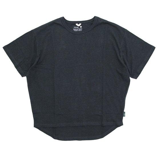 GO HEMP ゴーヘンプ|レディース HONEY TEE (ガンメタルグレイ)(Tシャツ)