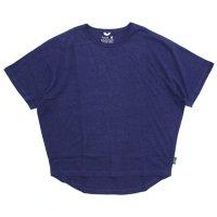 GO HEMP ゴーヘンプ|レディース HONEY TEE (ブルーベリーブルー)(Tシャツ)