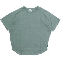 GO HEMP ゴーヘンプ|レディース HONEY TEE (フェアグリーン)(Tシャツ)