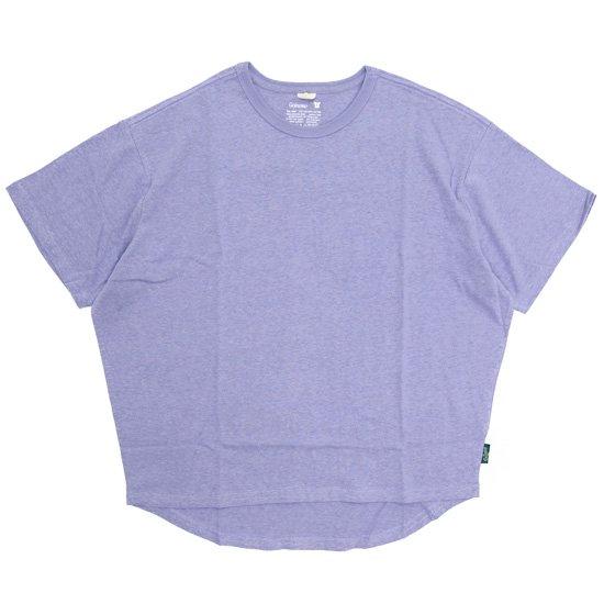 GO HEMP ゴーヘンプ|レディース HONEY TEE (ラベンダー)(Tシャツ)