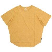 GO HEMP ゴーヘンプ|レディース HONEY TEE (サンセットゴールド)(Tシャツ)
