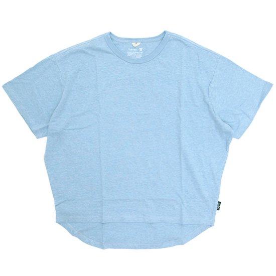 GO HEMP ゴーヘンプ レディース HONEY TEE (スカイブルー)(Tシャツ)