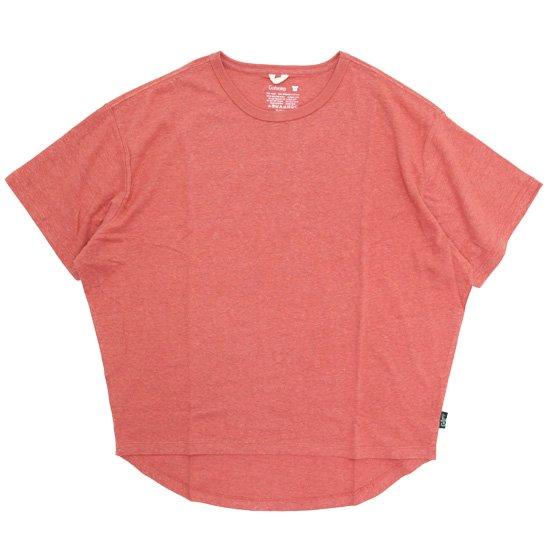 GO HEMP ゴーヘンプ|レディース HONEY TEE (ピーチエコー)(Tシャツ)