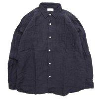 SPINNER BAIT スピナーベイト|グランジウォッシュ オグリシャツ (スミブラック)(長袖シャツ)