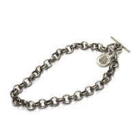 Slow Hands スローハンズ|Silver Chain bracelet (カレンシルバー チェーンブレスレット)