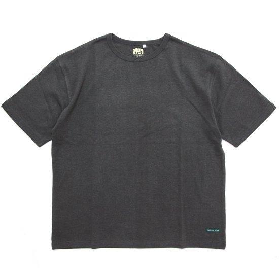 A HOPE HEMP アホープヘンプ Set in BIG S/S Tee (オールドブラッキー)(Tシャツ)
