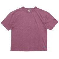 A HOPE HEMP アホープヘンプ|Set in BIG S/S Tee (スカーレット)(Tシャツ)