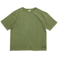 A HOPE HEMP アホープヘンプ|Set in BIG S/S Tee (ハーブグリーン)(Tシャツ)